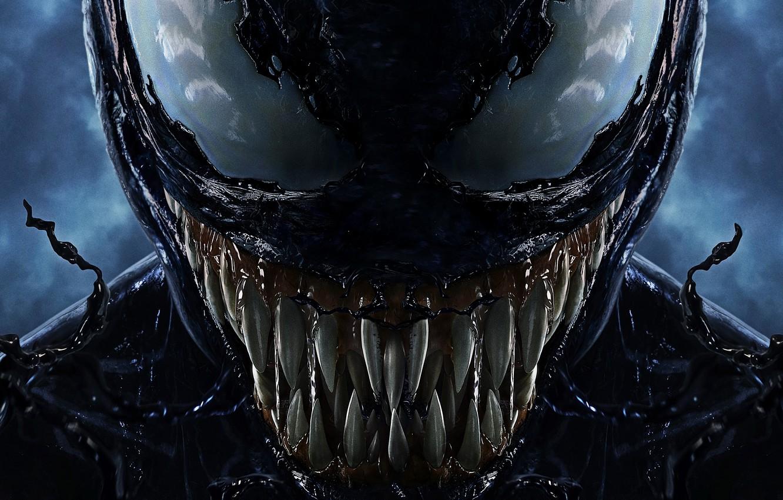 Photo wallpaper background, fiction, teeth, being, poster, horror, Tom Hardy, Tom Hardy, Venom, Venom, symbiote