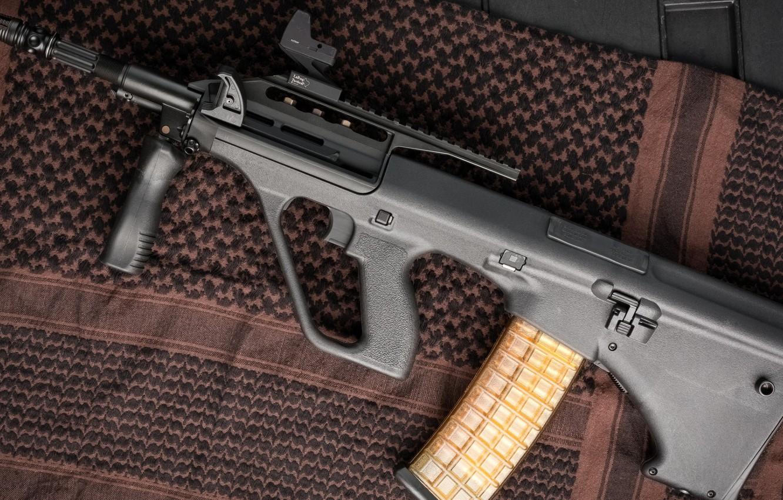 Photo wallpaper weapons, machine, weapon, AUG, Steyr, assaul rifle, Steyr, Aug