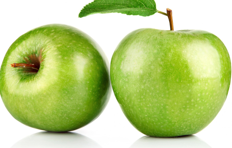 Photo wallpaper macro, Apple, fruit, the fruit