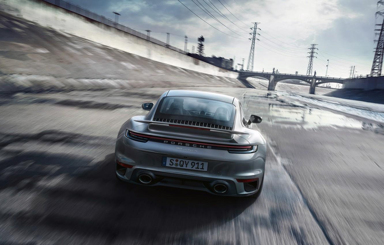 Wallpaper The Drain Rear View Porsche 911 Turbo S 2020 Images For Desktop Section Porsche Download