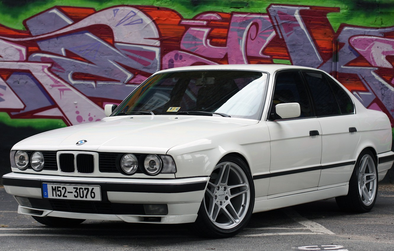 Photo wallpaper BMW, E34, AC Schnitzer, 525i, 5-Series, M50
