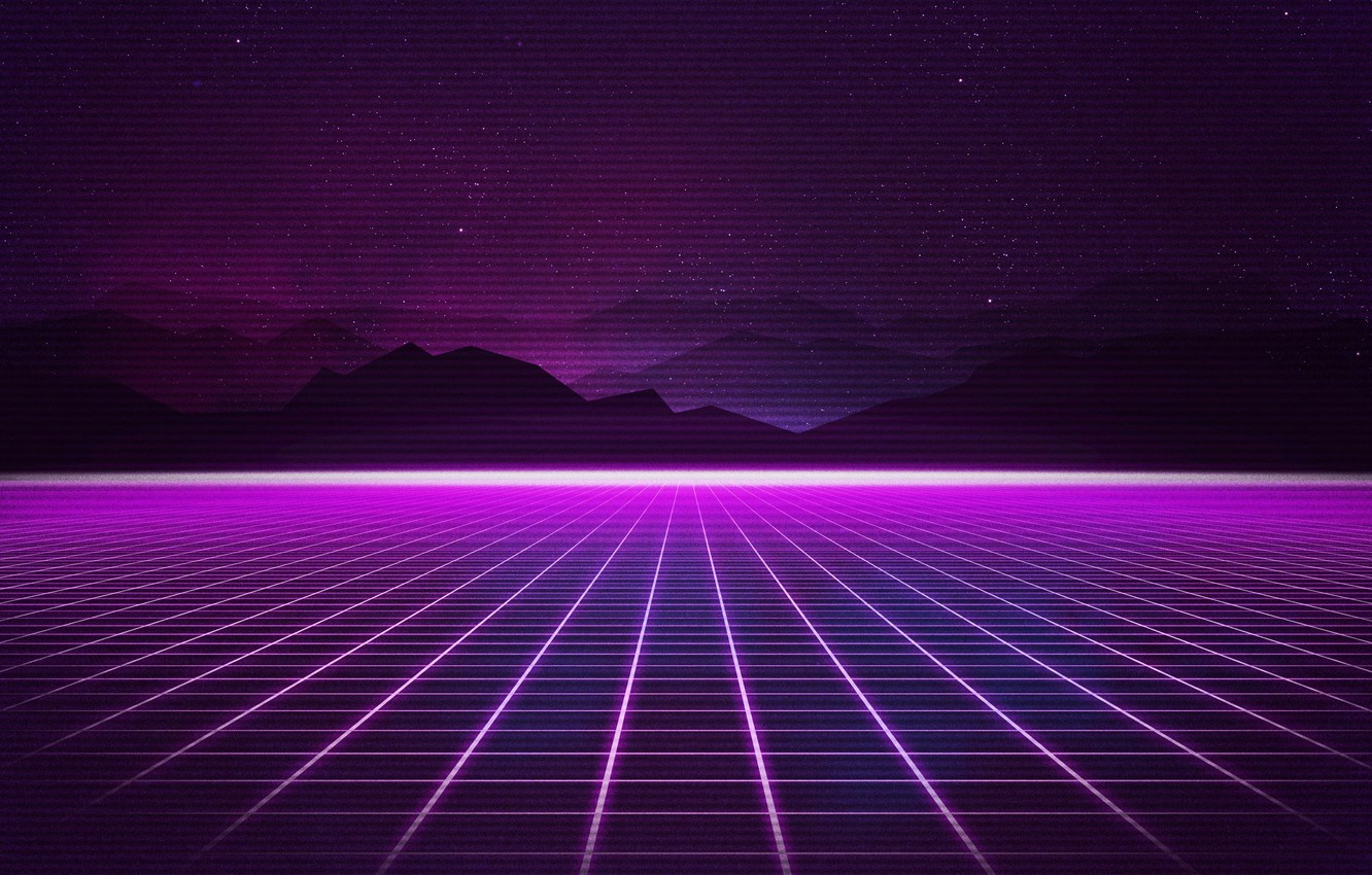 Photo wallpaper Music, Stars, Background, 80s, Neon, 80's, Synth, Retrowave, Synthwave, New Retro Wave, Futuresynth, Sintav, Retrouve, …
