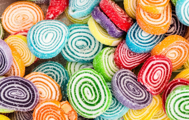 Photo wallpaper sugar, sweet, marmalade