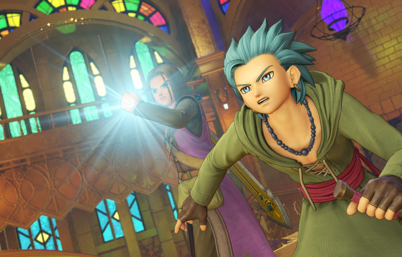 Wallpaper Temple Guy Dragon Quest Xi Images For Desktop Section
