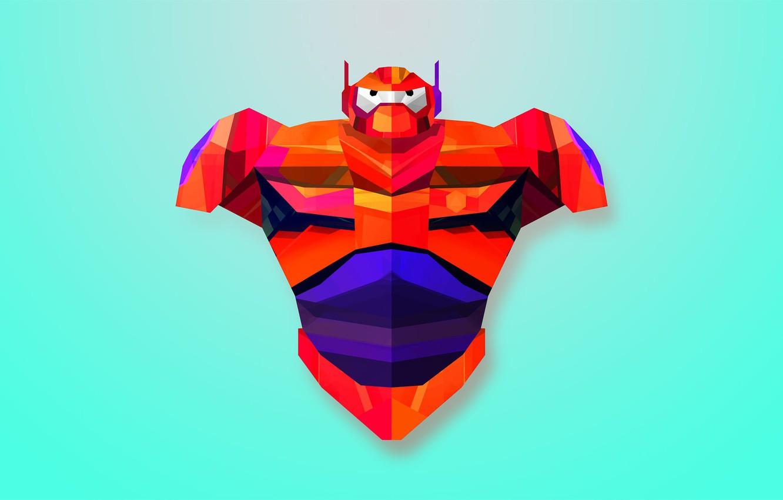 Wallpaper Minimalism Art Robot Big Hero 6 Baymax City Of Heroes Baumax Images For Desktop Section Minimalizm Download