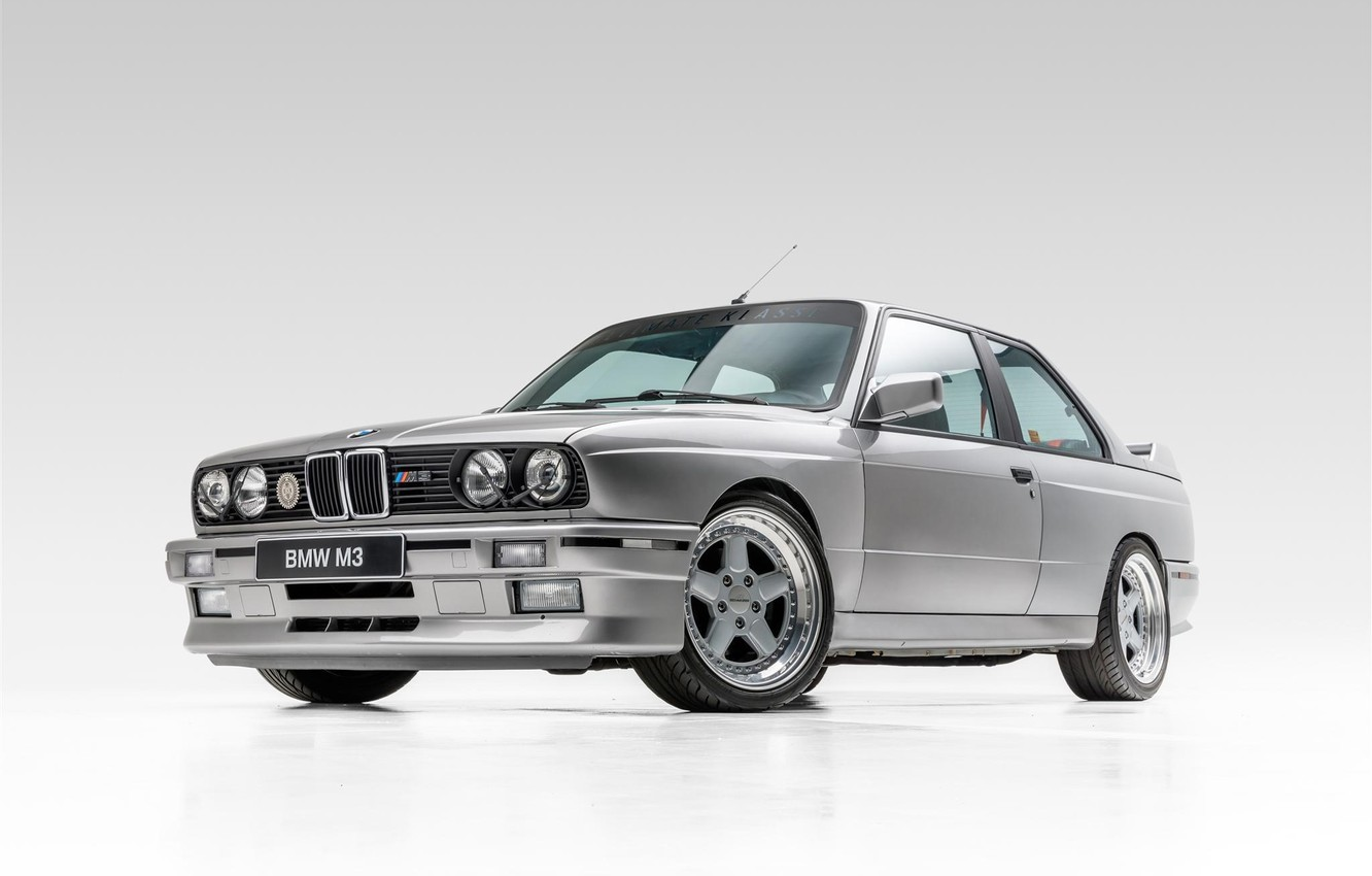 Photo wallpaper BMW, COUPE, EVO, E30, M3