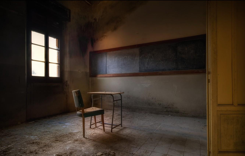 Photo wallpaper chair, Board, Parta, Klas