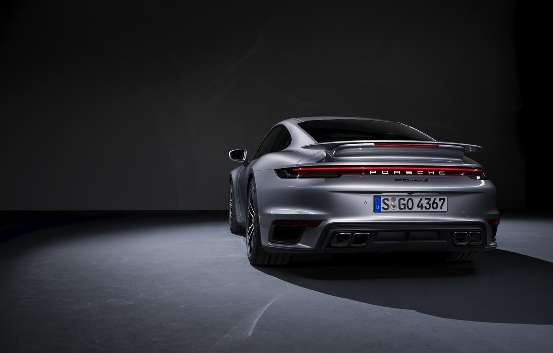 Wallpaper 911 Porsche Rear View Turbo S 2020 992 Images For Desktop Section Porsche Download