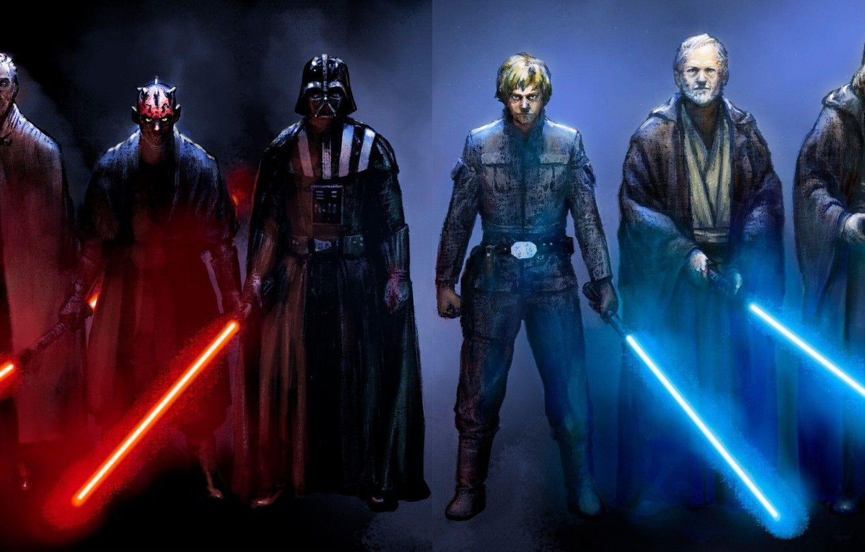Wallpaper The Jedi Darth Vader Dual Monitor Iodine Darth Maul