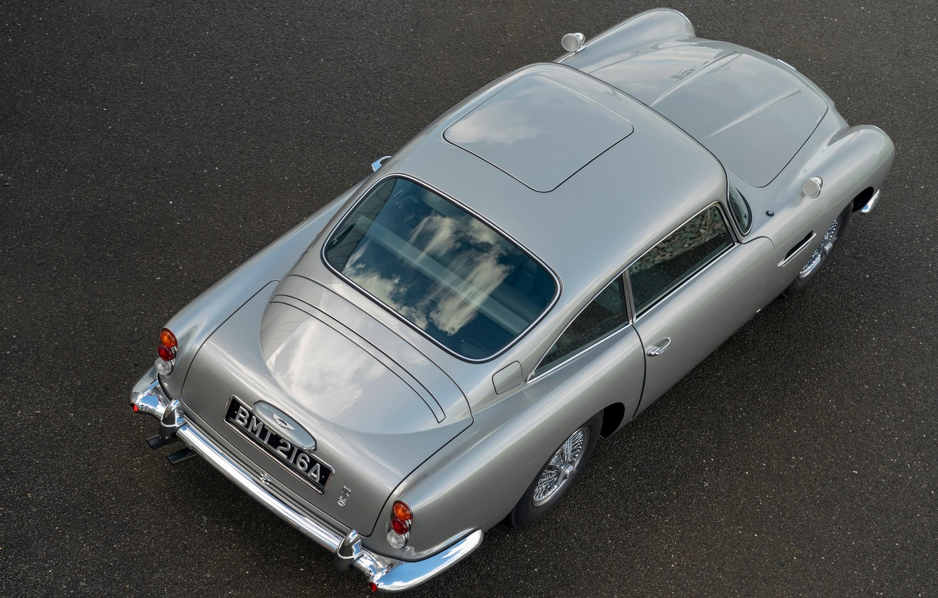 Photo wallpaper Aston Martin, top, DB5, 2020, Goldfinger Continuation