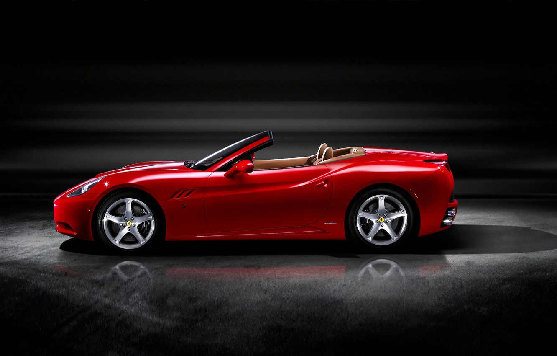 Photo wallpaper Ferrari, Roadster, California, Worldwide, 2008–2012