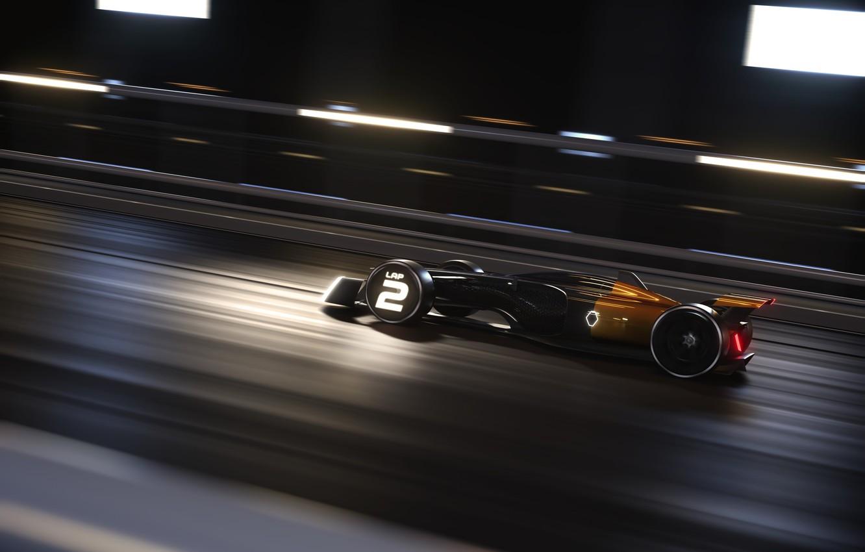 Photo wallpaper speed, Renault, 2017, Renault RS 2027 Vision