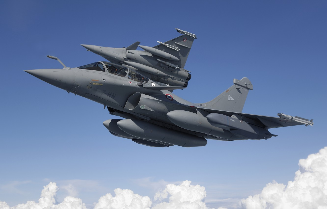 Wallpaper Fighter Dassault Rafale The French Air Force