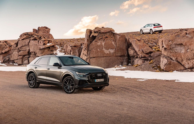 Photo wallpaper Audi, Audi, S-Line, TFSI, Audi Q8, Audi Q8 55 TFSI Quattro S-Line 2018