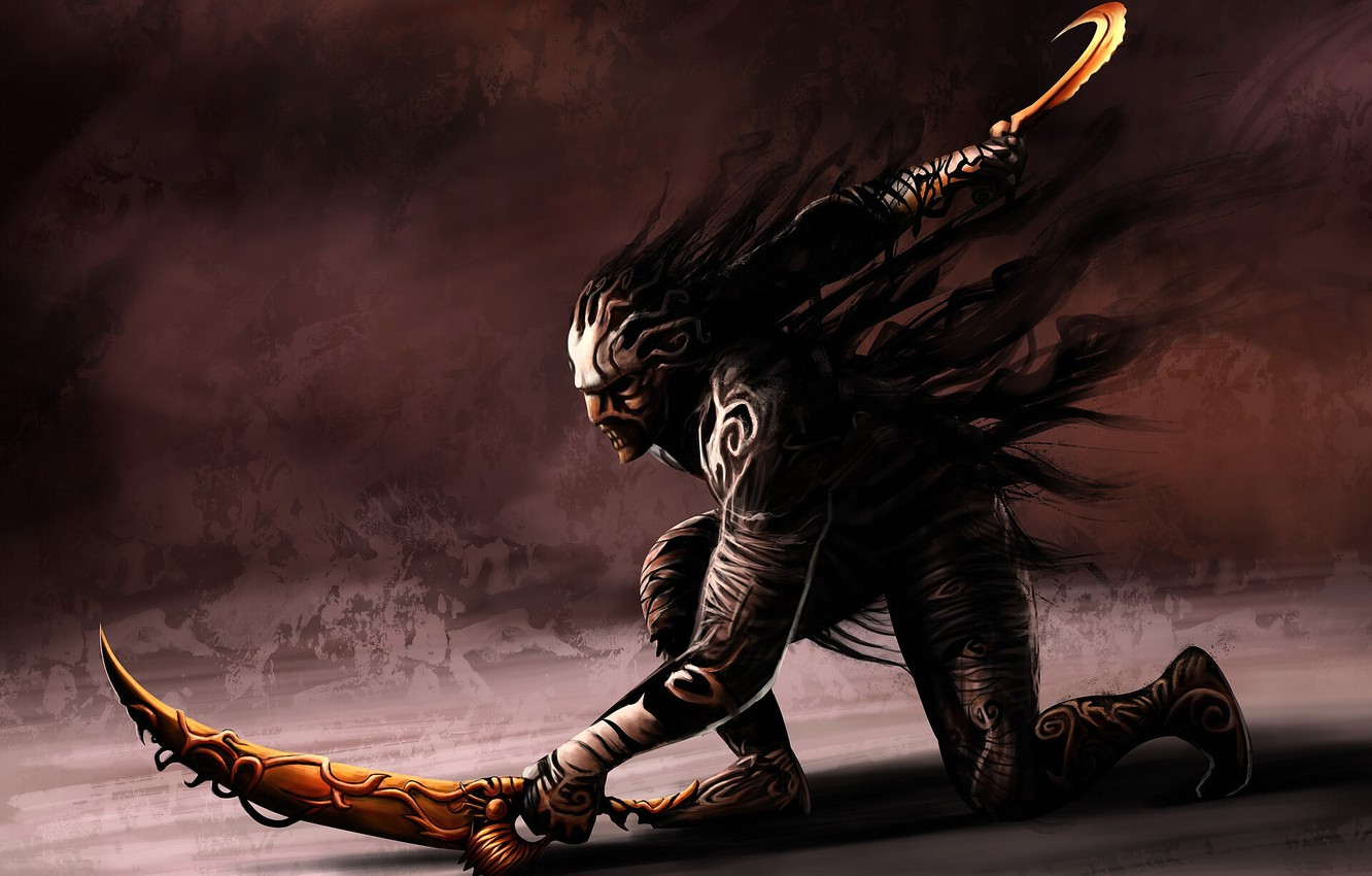 Wallpaper Prince Of Persia Warrior Within Swords The Mask Of