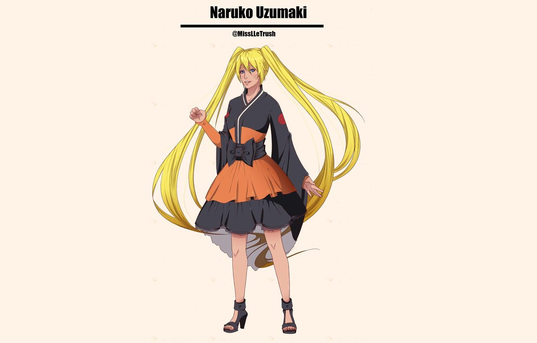 Photo wallpaper Naruto, Naruto, Uzumaki Naruto, Naruko