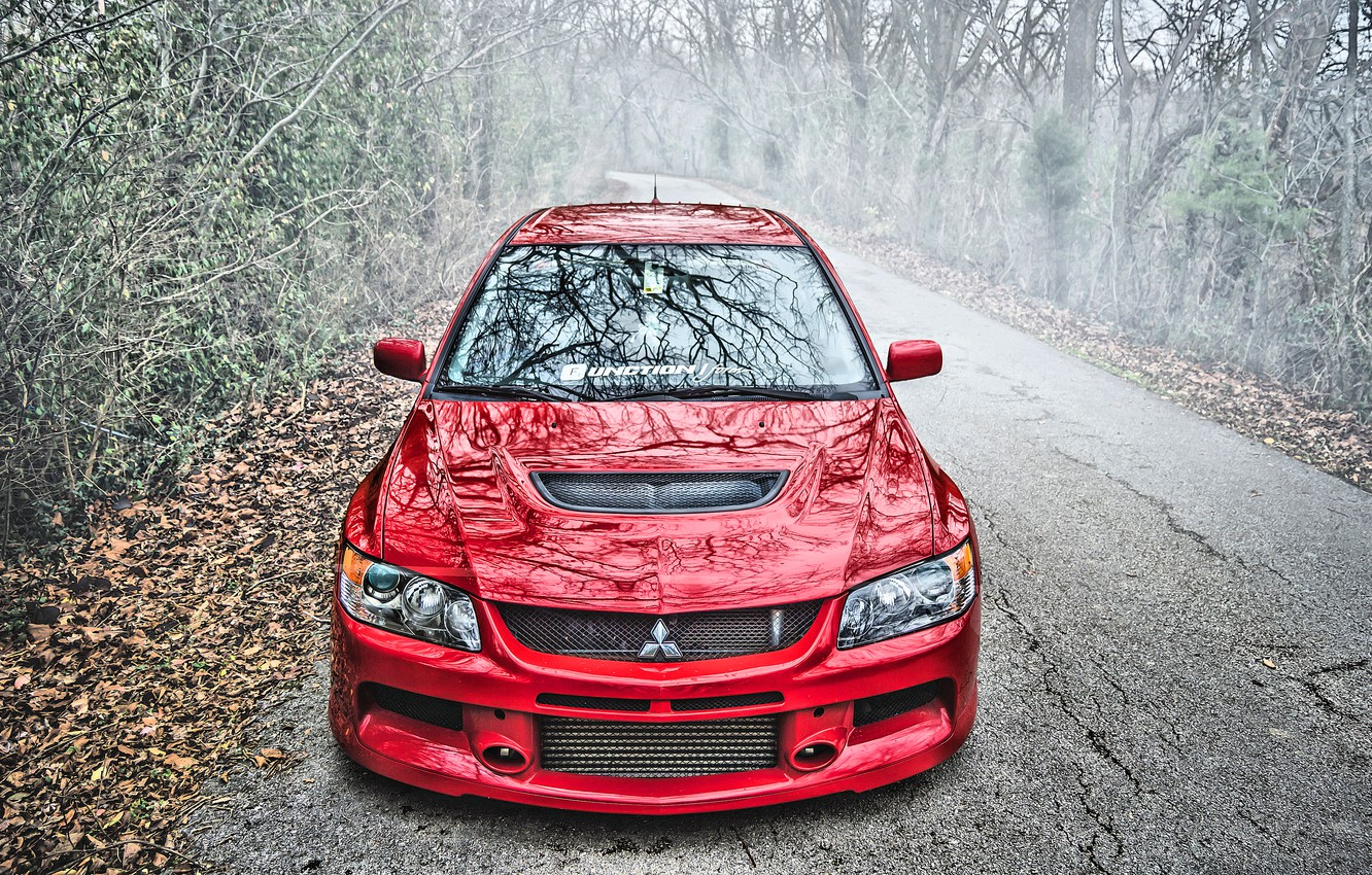 Photo wallpaper Mitsubishi, Lancer, Evolution, Mitsubishi Lancer, Mitsubishi Lancer Evolution IX, Evolution IX