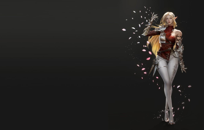 Photo wallpaper fantasy, art, Blonde, costume design, Jihyun Heo