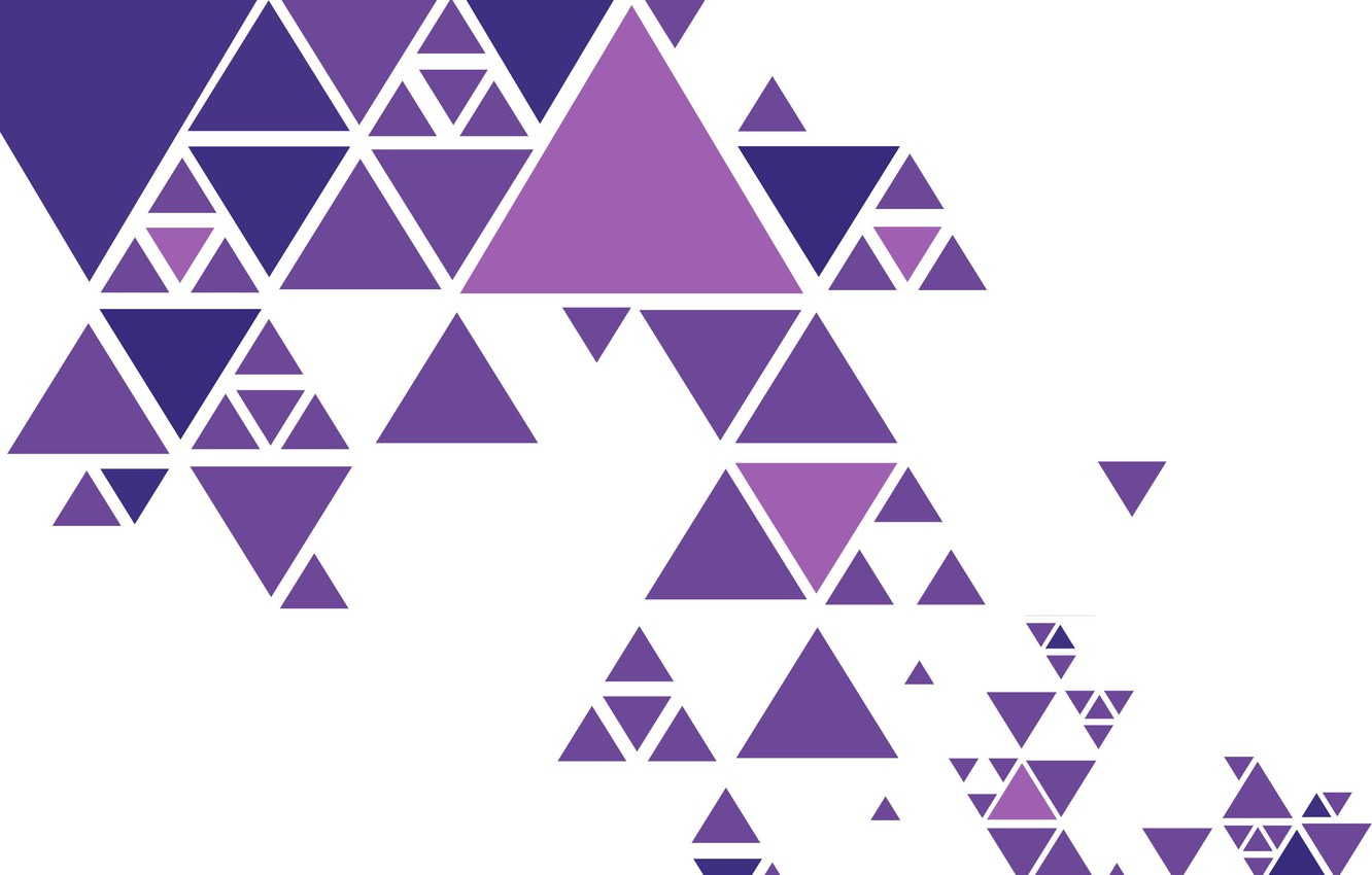 Photo wallpaper abstraction, vector, colorful, geometry, background, triangle