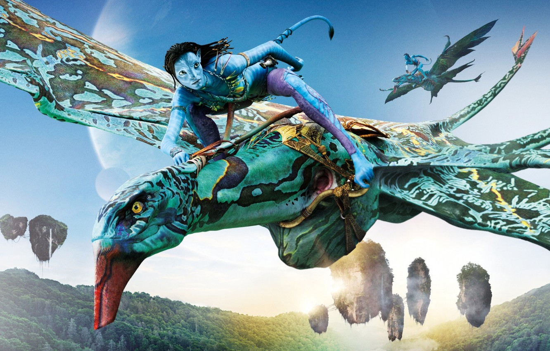 Photo wallpaper fantasy, action, Avatar 2, Avatar 2, 2021