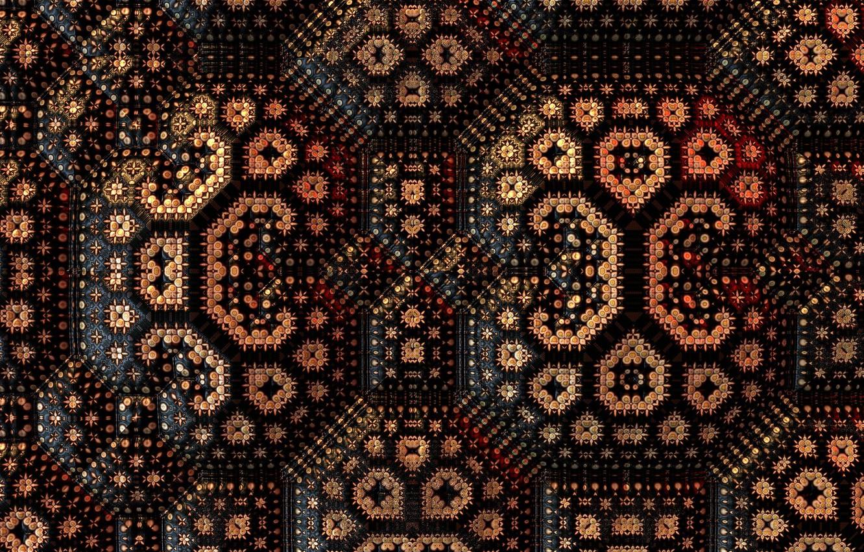 Photo wallpaper background, color, fractal