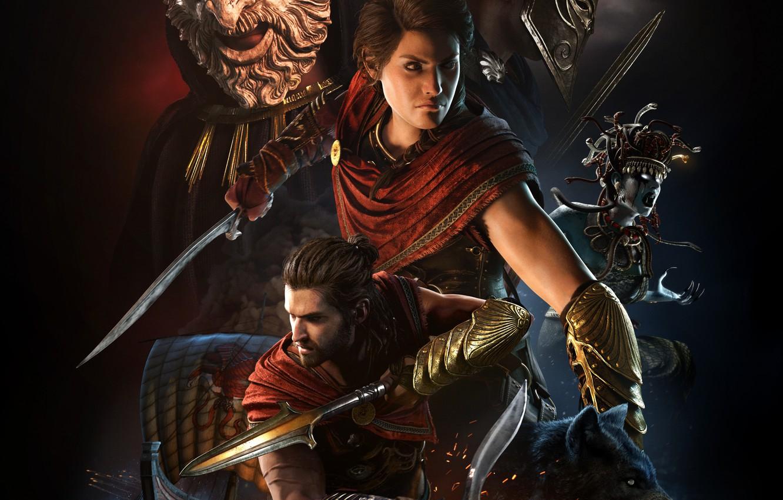 Wallpaper Art Kassandra Assassin S Creed Odyssey Alexios Images