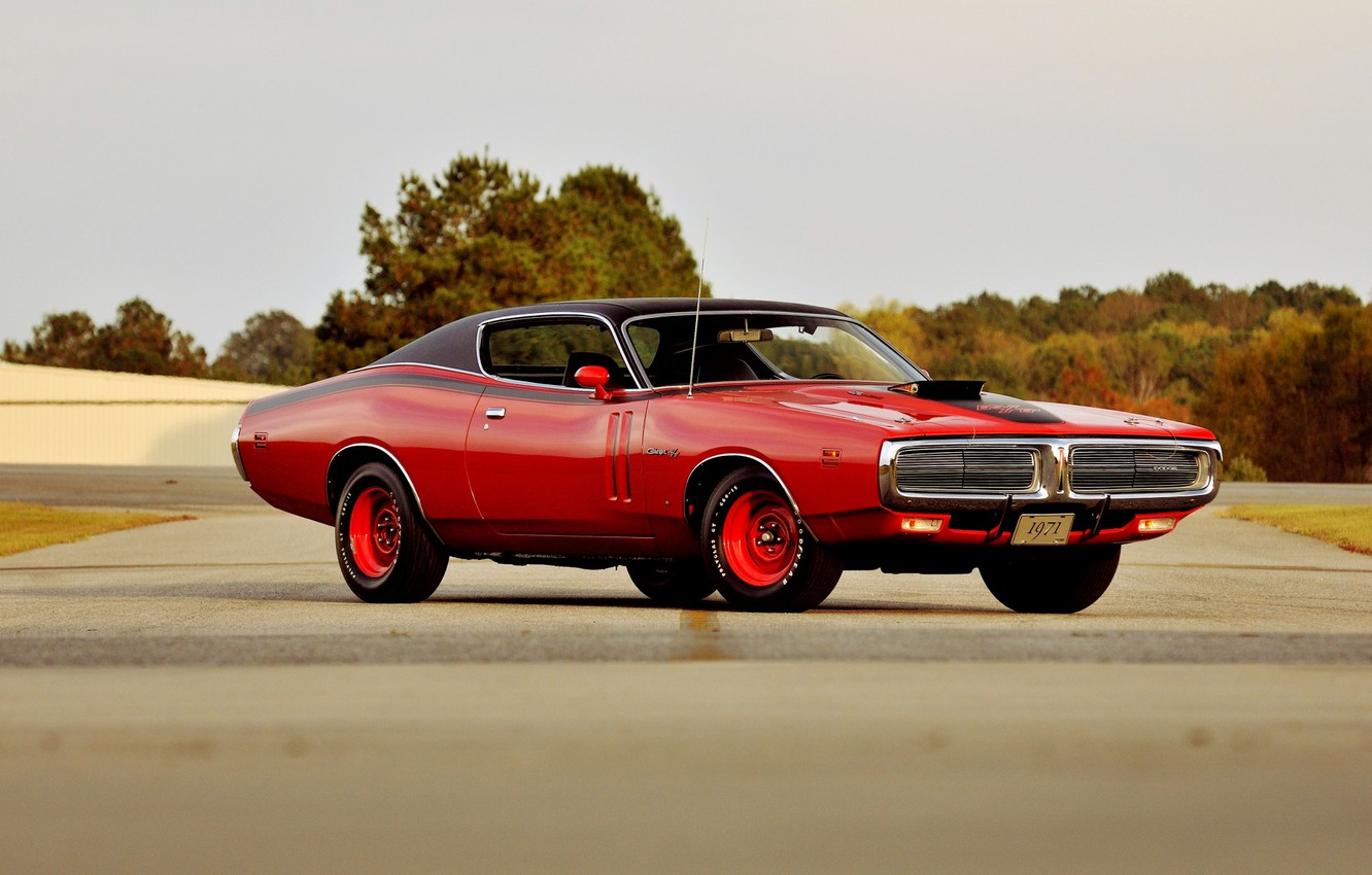 Photo wallpaper Dodge, Coupe, Charger, Classic car, R/T, Hemi 426
