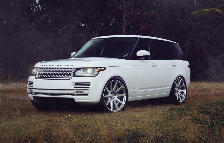 Photo wallpaper Land Rover, Range Rover, Vogue