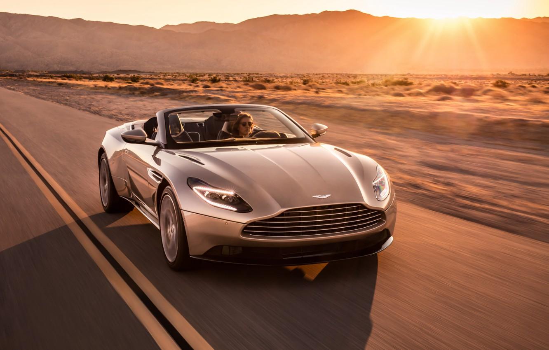 Photo wallpaper Aston Martin, 2018, Volante, DB11