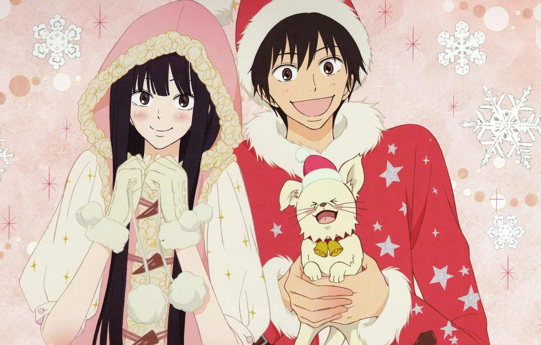Wallpaper Winter, Kimi Ni Todoke, To Reach You, Sawako