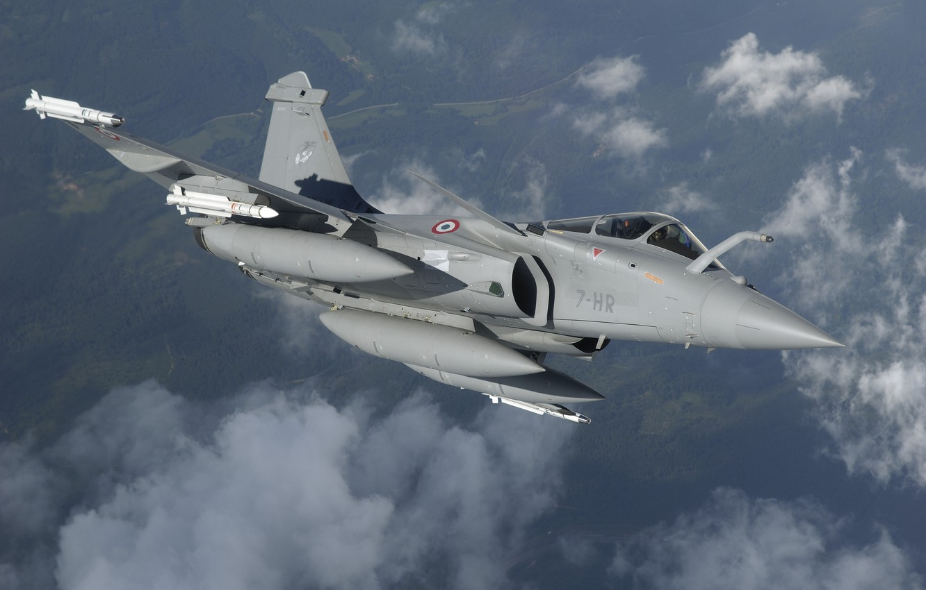 Wallpaper Fighter Rocket Dassault Rafale The French Air