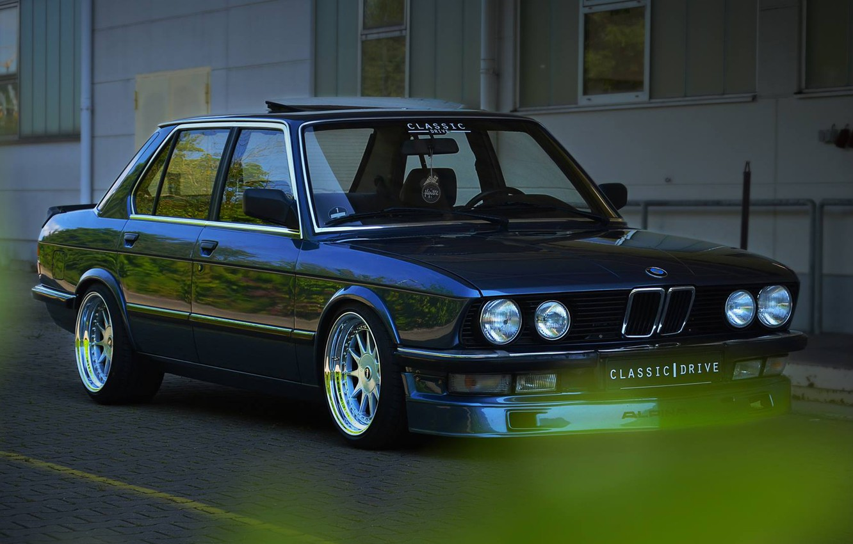 Photo wallpaper BMW, E28, 535i, 5-Series