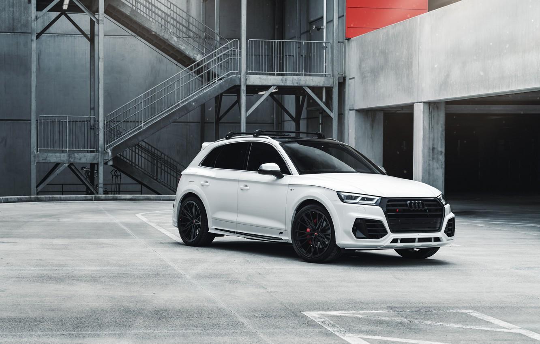Photo wallpaper Audi, White, Vossen, VAG, SQ5, Sight