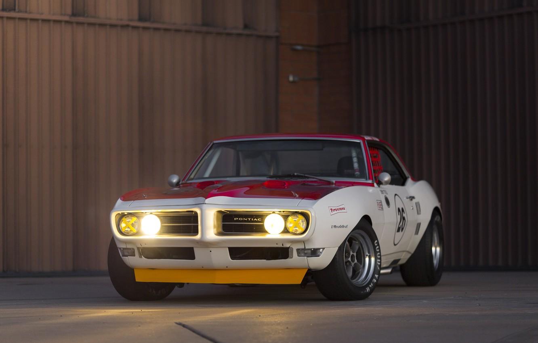 Photo wallpaper Muscle Car, Race Car, Pontiac Firebird Trans Am