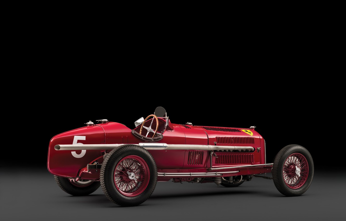 Photo wallpaper Spokes, Alfa Romeo, Classic, Scuderia Ferrari, 1932, Grand Prix, Classic car, Sports car, Alfa Romeo …