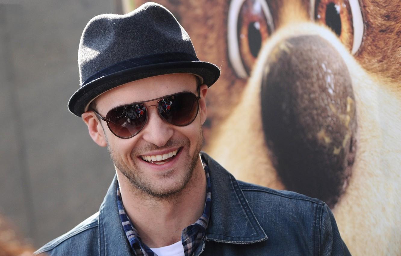 Photo wallpaper smile, actor, singer, Justin Timberlake