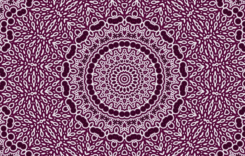 Photo wallpaper abstraction, pattern, purple