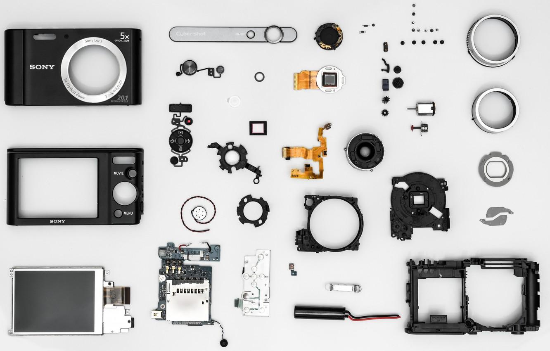 Photo wallpaper camera, Sony, spare parts