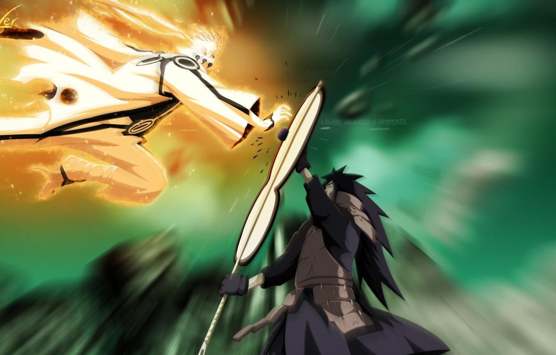 Wallpaper Battle Naruto Manga Naruto Shippuden Madara Uchiha Uzumaki Images For Desktop Section Syonen Download