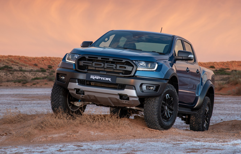 Photo wallpaper Ford, Raptor, pickup, Ranger, 2019