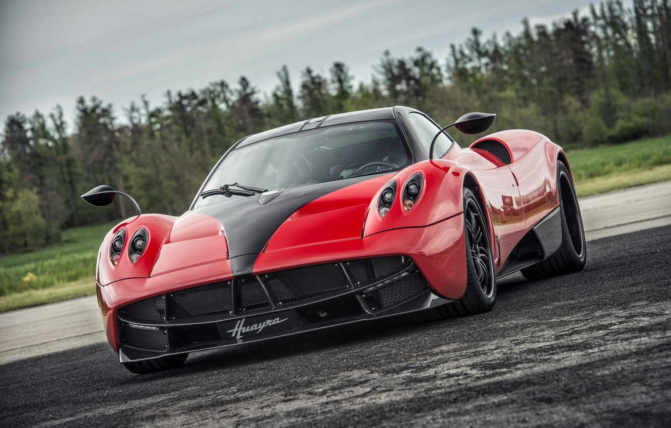 Photo wallpaper Pagani, Supercar, To huayr