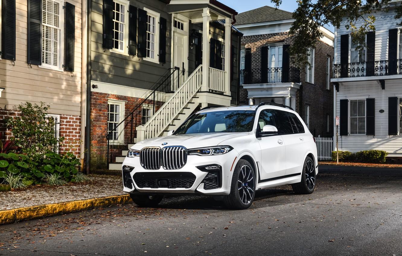 Photo wallpaper BMW, xDrive50i, BMW X7, G07