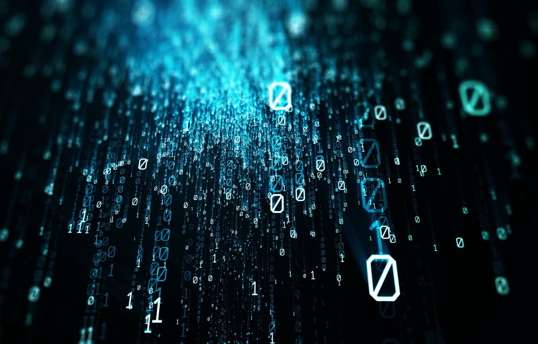 Photo wallpaper code, binary code, binary, programming, zeros, unit