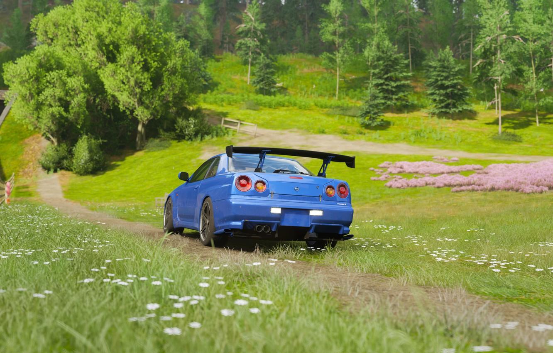 Wallpaper Nissan Cars Forza Forza Horizon Forza Horizon