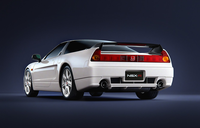 Photo wallpaper White, Machine, Honda, Render, Rendering, Honda NSX, White color, Transport & Vehicles, by Damian Bilinski, …