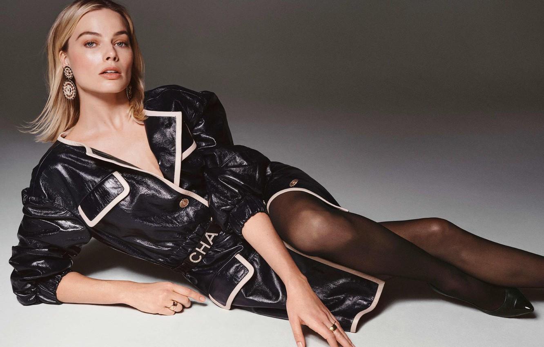 Photo wallpaper look, pose, celebrity, celebrity, Margot Robbie