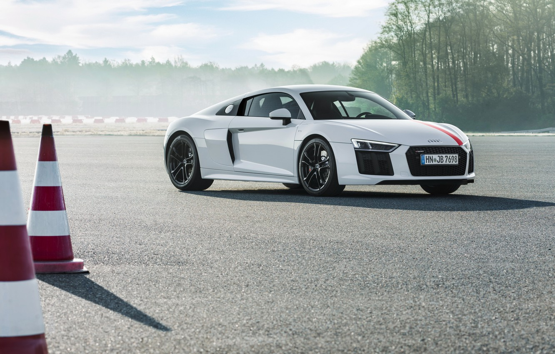 Photo wallpaper supercar, Audi R8, 2018, V10, RWS