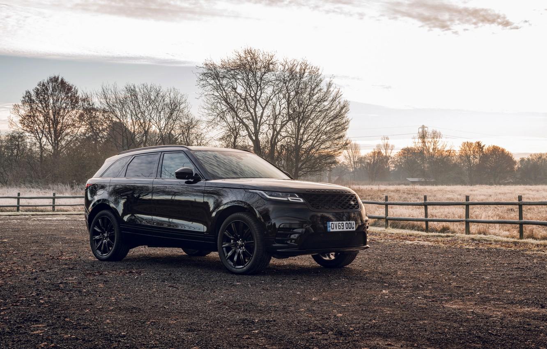 Photo wallpaper Land Rover, Range Rover, SUV, the five-door, 2020, Velar, Velar R-Dynamic Black Limited Edition