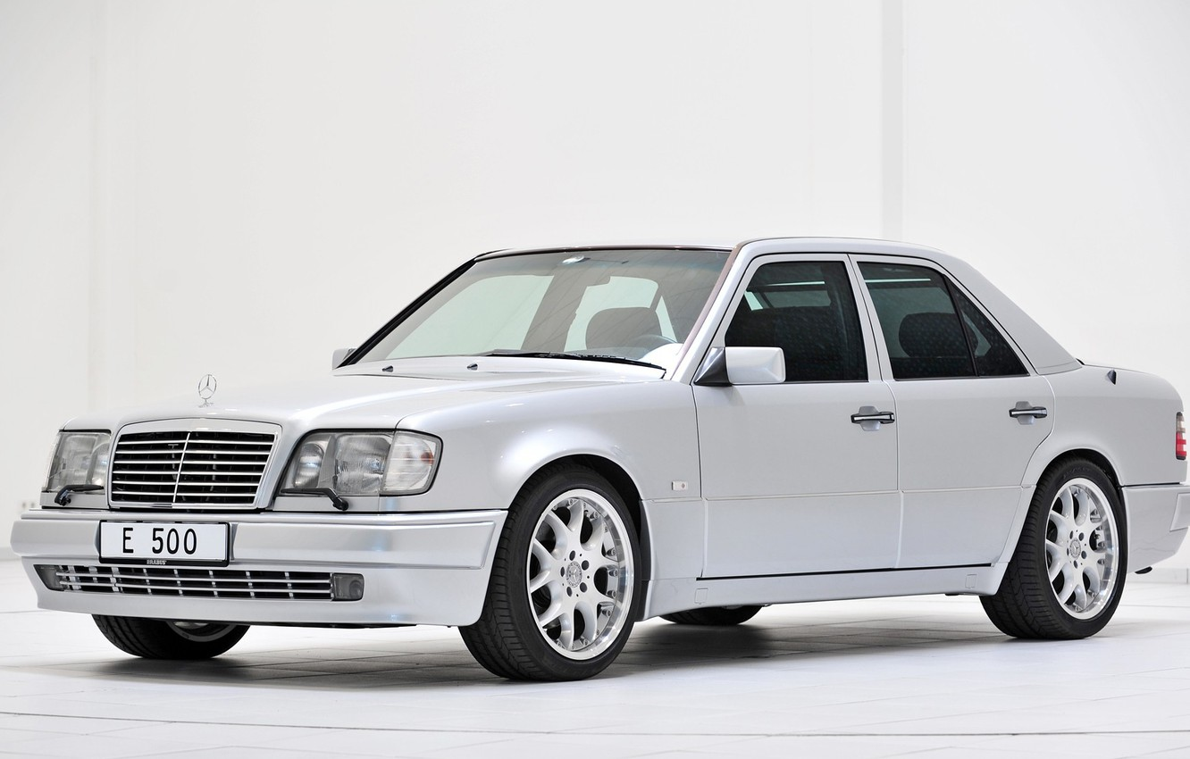 Photo wallpaper Mercedes - Benz, E500, W124, Limied