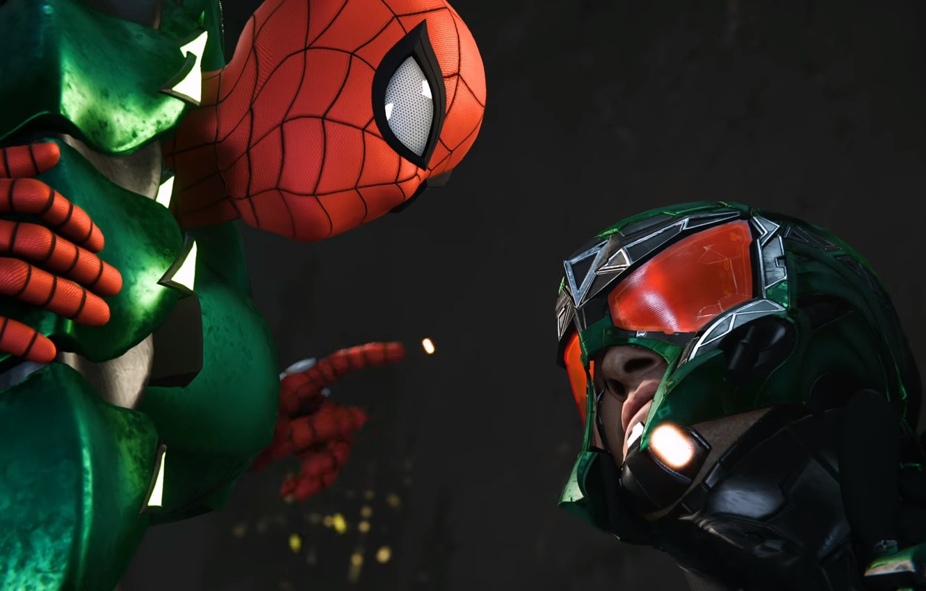 Photo wallpaper Sony, scorpion, Marvel, Spider-Man, Exclusive, PS4, Insomniac Games